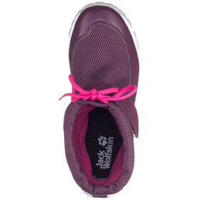 Jack Wolfskin Kiwi WT Texapore Mid Shoes Kids purple/pink